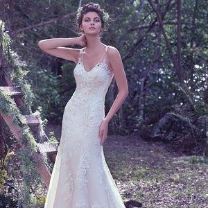 Wedding Bridal Gown Wynter Sheath Lace
